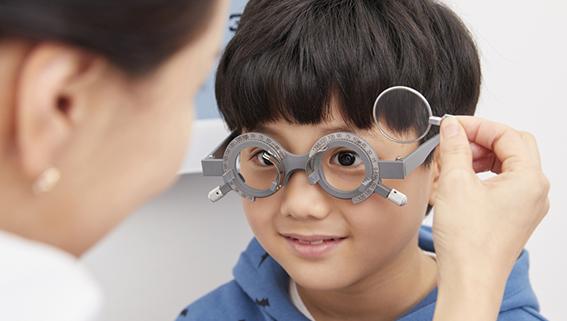 お子様の目の症状・疾患に対応小児眼科