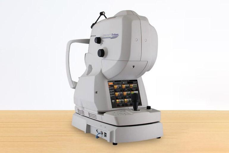 OCT Triton(3次元眼底像解析装置)