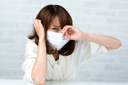 結膜炎を感染させないために